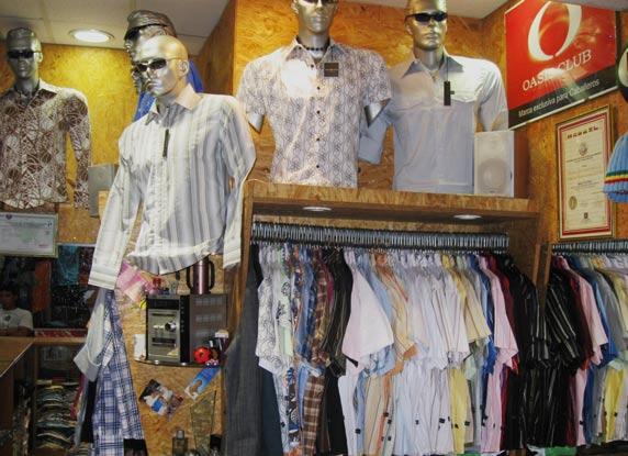 camisas oasis