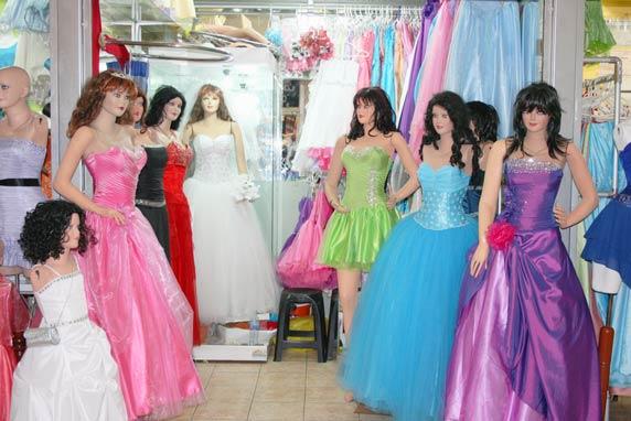 Vestidos largos para matrimonio en gamarra