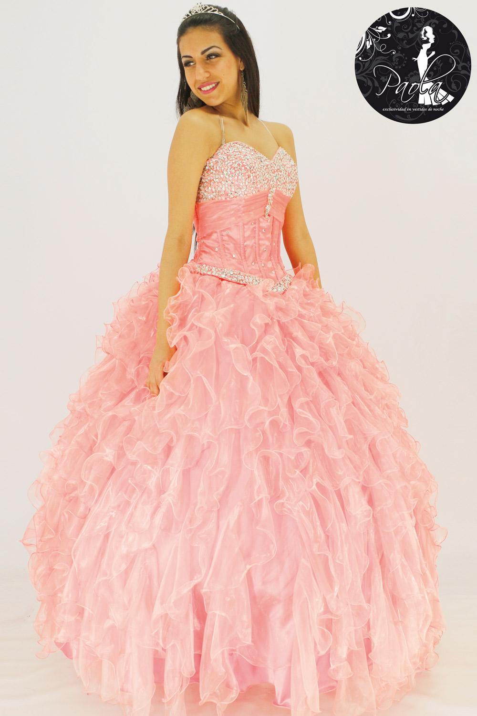 Vestidos de graduacion de primaria color rosa coral