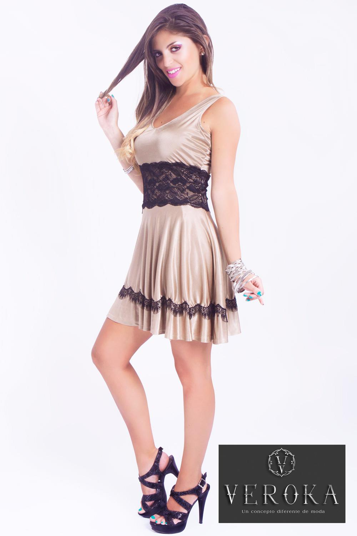 Modelo de vestido de fiesta gamarra