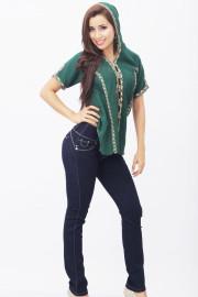 Pantanones Jeans Para Mujer Gamarra