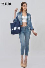 Vestidos jeans en gamarra